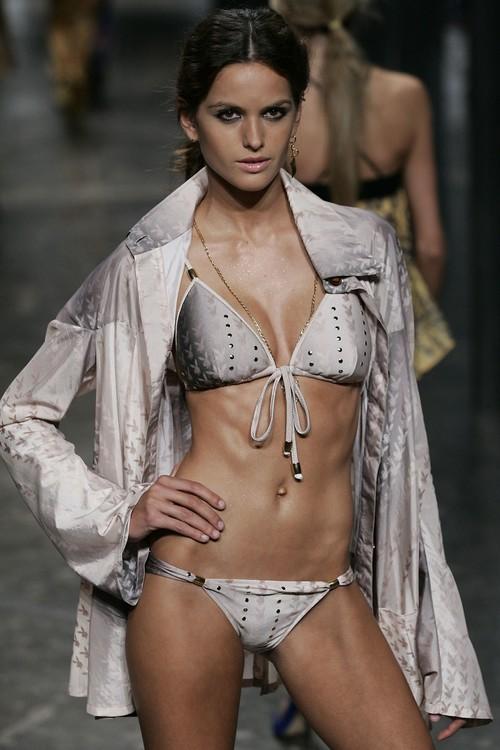 Raia de Goeye for Playboy jacket and bikini